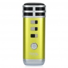 I9 Stylish Mini Portable KTV Singing Karaoke Player for Computer / Cellphone / MP3 / MP4 - Green