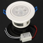 5W 3500K 450-Lumen 5-LED Warm White Light Ceiling Lamp w/ Driver (AC 85~260V)