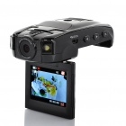 "Stylish Car Shaped 720P 1.0MP CMOS Wide Angle Car DVR Camcorder w/ 2-LED / HDMI / TF (2.0"" TFT LCD)"