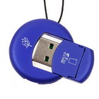 Cute MicroSD/TransFlash TF USB 2.0 Card Reader Keychain