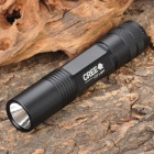 Mini C-5C Cree 3W 80LM 6000K 4-Mode White LED Flashlight (1 x AA / 1 x 123A)