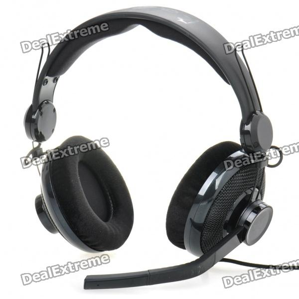 Genuine RAZER Professional PC Gaming Headset with Microphone - Black