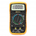 "DT-838L 1.7"" LCD Handheld Digital Multimeter - Black"