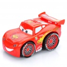 Cars McQueen Figure Electric Inertia Car Toy with Sound Effect - Red (2 x AA)