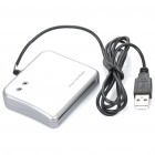 USB 2.0 Smart ID Card Reader - Silver