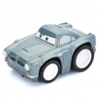 Cars Finn McMissile Figure Electric Inertia Car Toy with Sound Effect - Cinereous Grey (2 x AA)