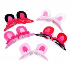 Korean Stereo Rabbit Style Hair Pin (5-Piece Pack)