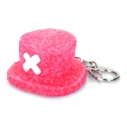 Nette One Piece Tony Tony Chopper Hat Stil ABS Schlüsselbund - Pink