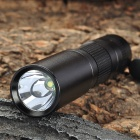 Tank007 TK-566 200-Lumen 1-Mode White LED Flashlight with Strap (1 x AA / 1 x 14500)