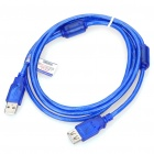 Gold-Plated USB Male to Female Extension Cable - Blue (150CM-Cable)