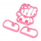 Nettes Hallo Kitty Cookie / Bread Backform - Pink