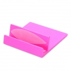 Compact Stand Mount Holder for iPad / iPad2 / iPhone / Tablet PC - Peach Blossom