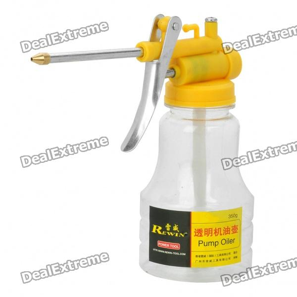 Transparent Hydraulic Pressure Feed Oil Pipe Oiler
