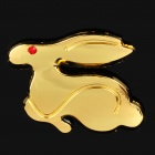 3D Rabbit Style Car Badges Sticker for Volkswagen - Random Color