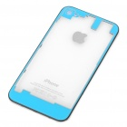 Replacement Transparent Back Cover Case for iPhone 4S - Light Blue
