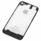 Replacement Back Cover Case for iPhone 4S - Black