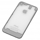 Replacement Transparent Back Cover Case for iPhone 4S - Mirror Surface