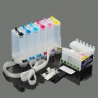 6-Color Printer Continuous Ink Supply System for EPSON R220 / R230