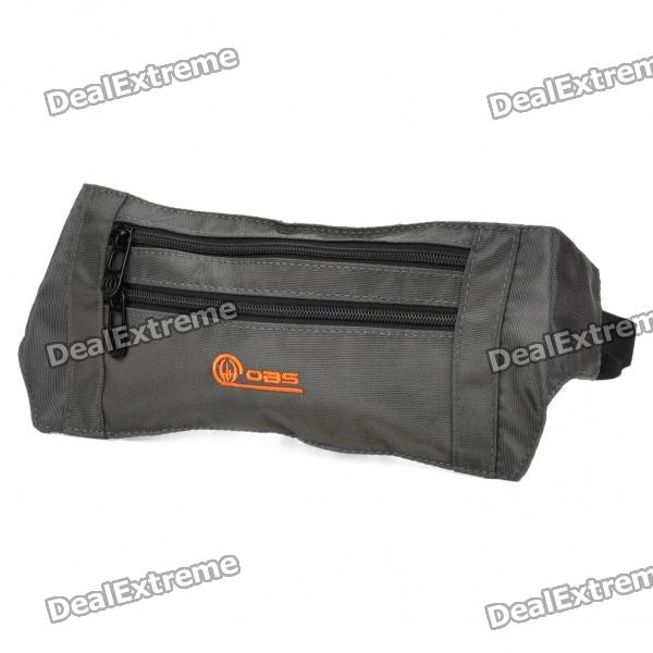 Professional 3-Pocket Anti-theft Inner Waist Bag - Army Green