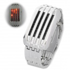 Stylish Water Resistant 44-LED Red Light Digital Wrist Watch (2 x CR2032)