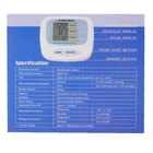 Fully Automatic Arm Style Digital Blood Pressure Monitor (4*AA)