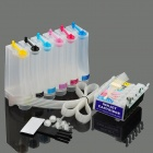 6-Color Printer Continuous Ink Supply System for EPSON TX700W / TX710W / T59 / T50 / TX650 + More