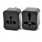 Universal Travel Power Plug Adapter - Black