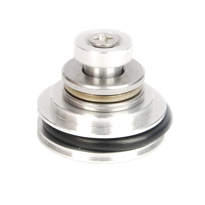 Matrix T6061 CNC Aluminum Bearing Piston Head for Airsoft - Silver