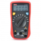 "UNI-T UT136A 1.9"" LCD Digital Multimeter - Red + Iron Gray (1 x 9V 6E22 Battery)"