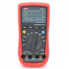 "UNI-T UT61E 2.6"" LCD Digital Multimeter - Red + Black (1 x 9V 6F22 Battery)"