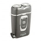 Genuine RUNWE Dual-Head Electric Shaver - Grey