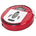 "2.2"" LCD Rechargeable Smart Robotic Auto Vacuum Cleaner w/ Remote Control - Red (AC 100~240V)"