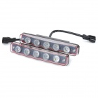 7.5W 120000MCD Energy Saving LED Car Daytime Running Lamps (DC 12V / Pair)
