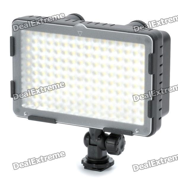 CN-160CA Dual Color Temperature 9.6W 2600~7500K 160-LED Video Light for Camera (7.2~12V) 5pcs electric bicycle battery 12v rechargeable customized 12v 60ah lithium battery pack for ups led light solar street light