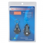 Electronic Transmitter Key Finder Receptor Llavero Set - Negro (1 x CR1632 / 1 x CR2032)
