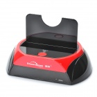 "USB 2.0 2.5""/3.5 SATA HDD Enclosure Docking - Black + Red"