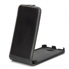 Protective PC Holder PU Leather Case for Samsung i9220 - Brown