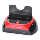 "USB 2.0 + ESATA 2.5""/3.5 SATA HDD Enclosure Docking - Black + Red"