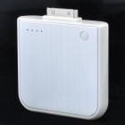Wiederaufladbarer 1700mAh Externe Mobile Emergency Power Charger für iPhone 4 - Silber