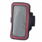 Sports Gym Arm Band Case for Samsung note/i9220/gt-n7000 - Black + Red