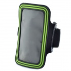 Sports Gym Arm Band Case for Samsung note/i9220/gt-n7000 - Green
