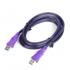 USB 3.0 Super Speed Male to Male Data Cable - Purple (1.8m)