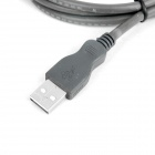 USB Male to Female Extension Data Cable - Deep Grey (1.5m-Length)