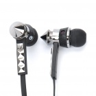 Designer's Earphone with Microphone (3.5mm Jack / 129cm-Cable)