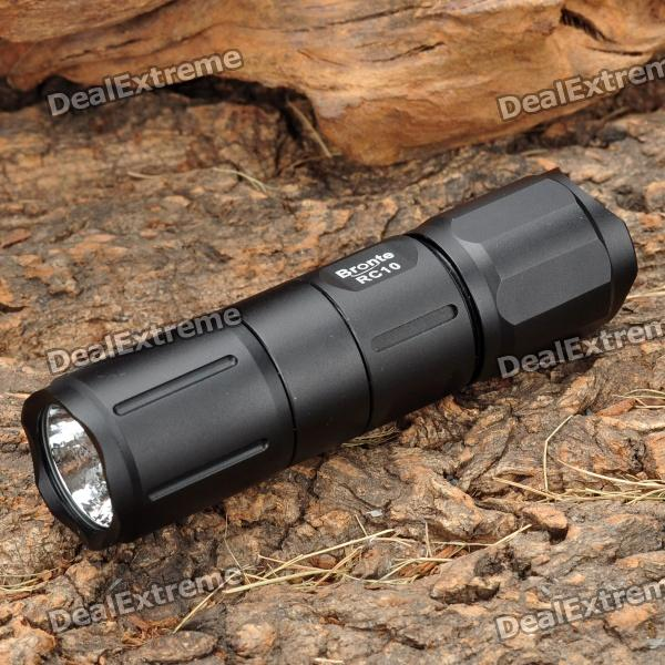 Bronte RC10 205LM 4-Mode White LED Flashlight (1 x CR123A / 16340)