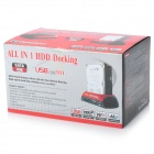 IDE + SATA HDD to eSATA & USB Docking Station w/ Card Reader - Black