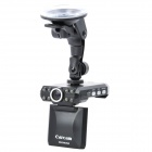 M300 5.2MP Anti-Shock Wide Angle Car DVR Camcorder w/ 8-LED IR Night Vision / TV-Out (2.5