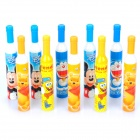 Cute Wine Style Blue Ink Ballpoint Pens (Assorted Cartoon Pattern / 10-Pen)