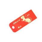 PNY World's Smallest Micro USB 2.0 Flash Jump Drive Keychain (4GB)