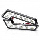1.8W 6-LED 3500K 112LM White Light Daytime Running Lamps (DC 12V / Pair)